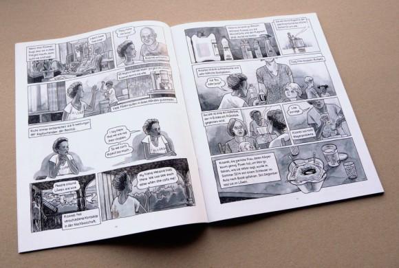 Erschienen als Comicreportage in der Septemberausgabe von 041 – Das Kulturmagazin. Bild: Andreas Kiener
